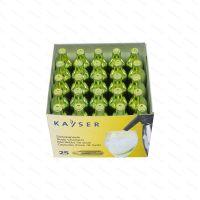 Soda chargers Kayser 7.5 g CO2, 25 pcs
