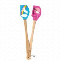 View details - Minispatula SPATULART Unicorn & Flamingo, 2 pcs