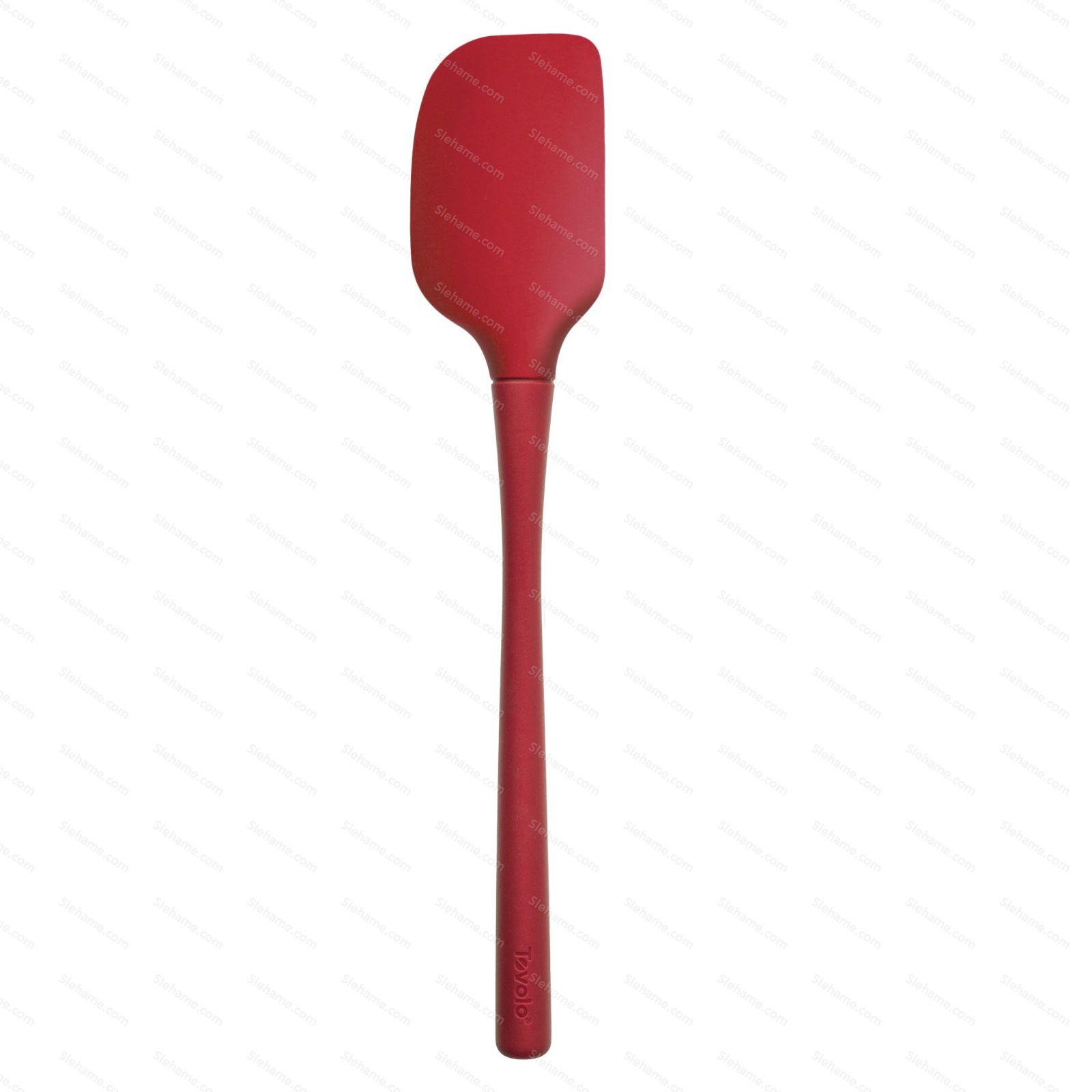 Tovolo FLEX-CORE All Silicone Spatula, cayenne